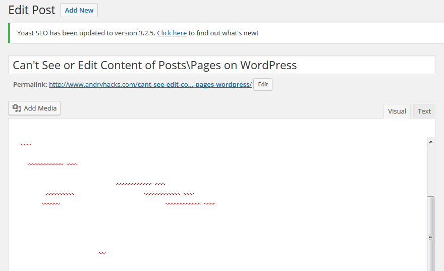 wordpress-blank-edit-posts